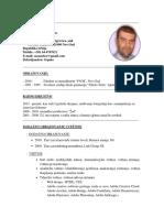 Sasa Zuber Curriculum Vitae 2018 SR