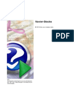 Navier-Stokes linéarisé