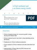 China Coal to-Methanol Deck