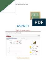 ASP.net and Web Programming