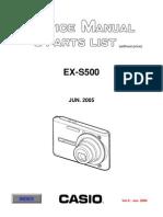 EXS500 Repair