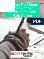 Sensory Play Ideas for Autism