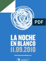 Dossier Noche Blanco 2010