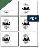 Hayaa Design