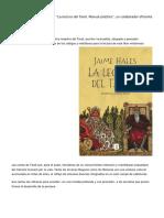 """Libro """"La Lectura Del Tarot. Manual Práctico"""", Un Colaborador Eficiente"""