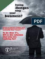 Business Focus Brochure