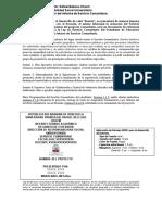 GUIA PARA EL INFORME DE SERVICIO COMUNITARIO EN URBE