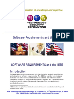 Software Requirements and the i Eee