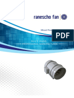 Ranescho Small Axial Plastic Fan