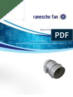 Ranescho Small Axial Plastic Fan