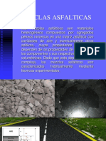 Mezclas asfalticas