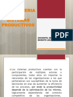 La Ingenieria y Los Sistemas Productivos