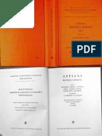 Appianus - Historia Romana (Vol. 1)