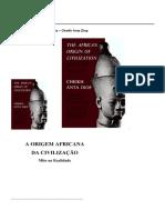 Cheikh Anta Diop - Origem Africana da Civiliza├з├гo.pdf