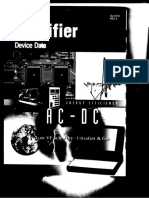 Rectifier Device Data