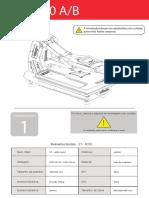 Manual Prensa Plana 40x50