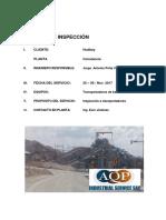 AQP Industrial - Inspeccion BC Constancia