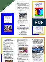 Dual Language Brochure Farmdale