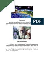 3. Teorias Origen Evolucion Vida
