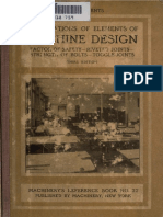 Calculations of Elements of Machine Design (1910)