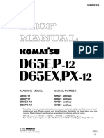 Shop ManualD65 12