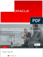 Oracle® Unified Method (OUM)
