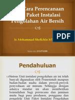Tata cara perencanaan unit paket instalasi pengolahan air.pptx