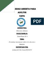 TAREA 3 DE LA UNIDAD 1 EDUCACION A DISTANCIA.docx