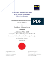 Certificate Other Members
