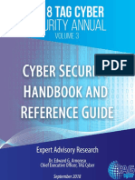 2018 TAG Cyber Security Annual Volume 3 Cyber Security Handbook and Reference Guide