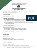 HPRB Agenda and Consent Calendar 07 2018