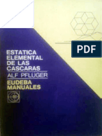Estática Elemental de Las Cáscaras - Alf Pflüger