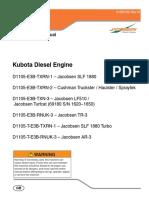Manual DE PARTES MOTOR KUBOTA