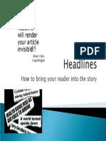 Headline Powerpoint