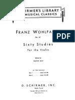 60 Estudios de Violín