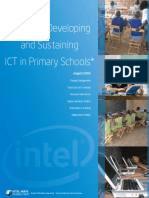 Guide for Developing and Sustaining Ict in Primary Schools