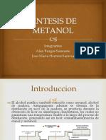 síntesis de metanol