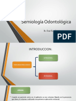 Semiología Odontológica Clase 8