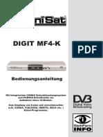 Technisat MF4-K DEUTSCH