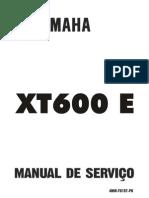 Manual de Serviço XT 600E
