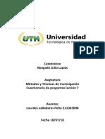 """Corregida """"encuesta """"Metodos y técnicas de investigación"""