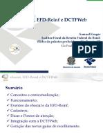 Material Sobre ESocial%2c EFD Reinf e DCTFweb