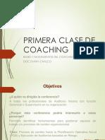 Bases y Fundamentos Del Coaching