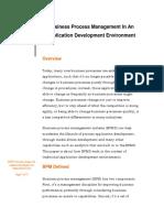 BPM Application Development Kemsley