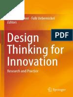 Walter Brenner, Falk Uebernickel (Eds.) - Design Thinking for Innovation_ Research and Practice (2016, Springer International Publishing)
