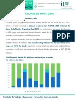 Deuda pública junio 2018