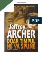 Jeffrey Archer - Cronicile Familiei Clifton - 1 - Doar Timpul Ne Va Spune