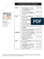 meeting wise checklist 1