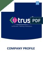 UTrust Company Profile 2018 v3.0