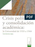 Crisis Política y Consolidación Académica